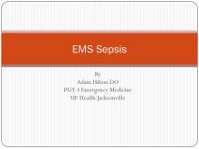 EMS Sepsis