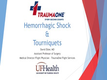 Hemorrhagic Shock and Tourniquets