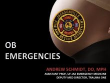 OB Emergencies